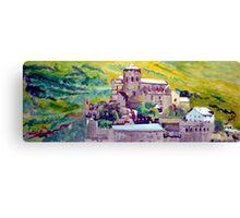 Chateau Valere Canvas Print