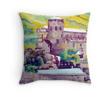 Chateau Valere Throw Pillow