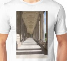 Columns in the Royal Naval college in Greenwich Unisex T-Shirt