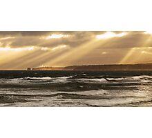 """Split Point Lights Up"",Anglesea,Great Ocean Road,Australia. Photographic Print"