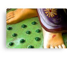 Barefoot Goddess Canvas Print