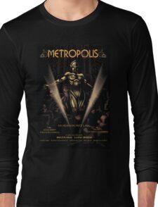 Metropolis alternative movie poster Long Sleeve T-Shirt