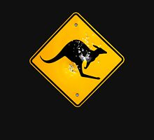 Kangaroo road sign Unisex T-Shirt