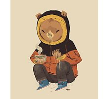 noodle bear Photographic Print