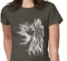 White Fusion Womens Fitted T-Shirt