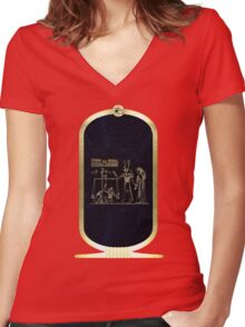 Weighing of the Heart Women's Fitted V-Neck T-Shirt