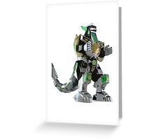 Mighty Morphin Power Rangers Dragonzord Greeting Card