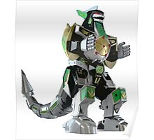 Mighty Morphin Power Rangers Dragonzord Poster