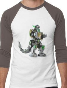 Mighty Morphin Power Rangers Dragonzord Men's Baseball ¾ T-Shirt