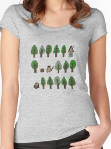 In the wilderness Women's Fitted Scoop T-Shirt