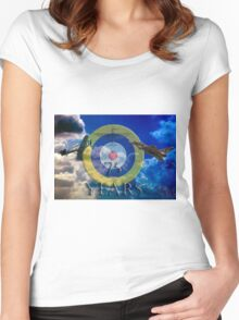 The Battle of Britain Women's Fitted Scoop T-Shirt