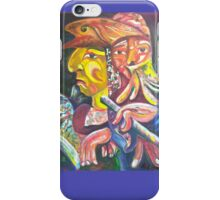 """Golden Calf 14 """"Two Faces in One"""" iPhone Case/Skin"""