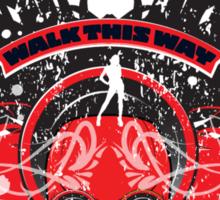 Walk this way Sticker