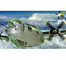 Liberator Attack - Exhibits at the R.A.F. Museum Hendon Photographic Print