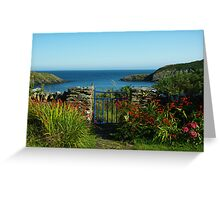 Summer holidays Greeting Card