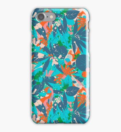 Brazil Hip Hop Pattern by Pepe Psyche iPhone Case/Skin