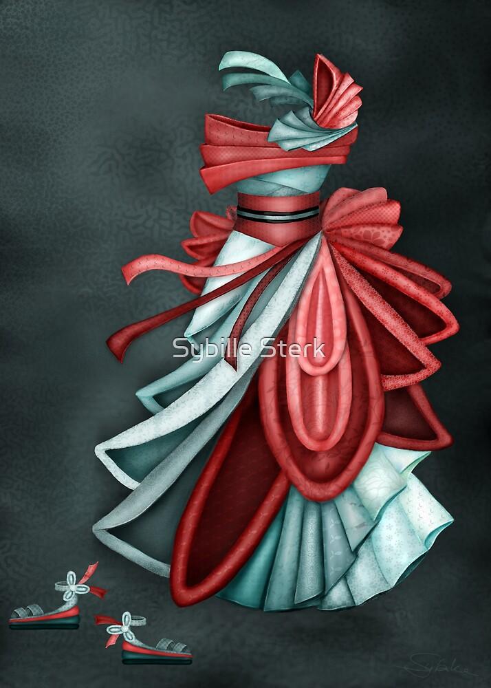 Origami Dress by Sybille Sterk