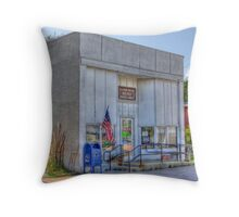 Post Office: Bucyrus, Kansas Throw Pillow