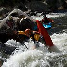 Kayak Nose Stand - Australia by Rick Box