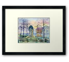 Restration Elm, Wansford, East Riding of Yorkshire Framed Print