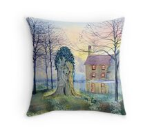 Restration Elm, Wansford, East Riding of Yorkshire Throw Pillow