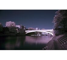 Lendal Bridge IR Photographic Print