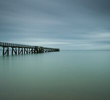 Cornwallis Wharf , Waitakere  by earlcooknz