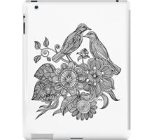 Bird Doodle - Work in Progress iPad Case/Skin