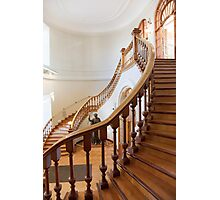 Staircase of Library Photographic Print