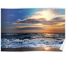 Nantucket Sunset, Massachusetts, USA Poster