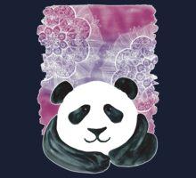 Lazy Panda on Pink & Purple Kids Clothes