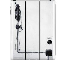 study wall telephone I iPad Case/Skin