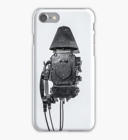 study wall telephone VI iPhone Case/Skin