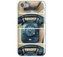 study wall telephone III iPhone Case/Skin