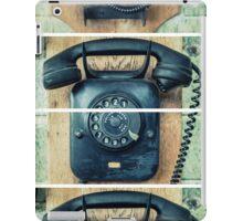study wall telephone III iPad Case/Skin