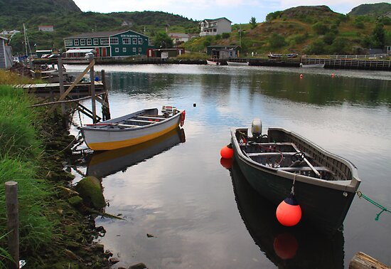 The Village Harbour by Brian Carey