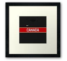 Team Canada (Sochi 2014) 3rd Jersey Framed Print