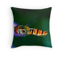 Hoverfly Throw Pillow