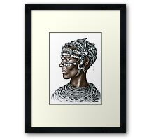 Rendille Woman Framed Print