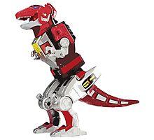 Mighty Morphin Power Rangers Tyrannosaurus Dinozord Photographic Print