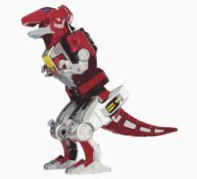 Mighty Morphin Power Rangers Tyrannosaurus Dinozord by Zanie