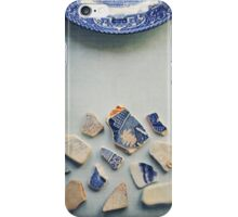 Picking up the broken pieces. iPhone Case/Skin