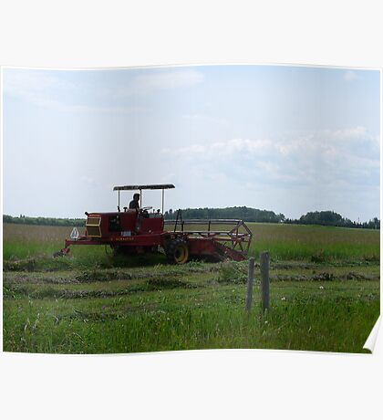 Cutting Hay,... Poster