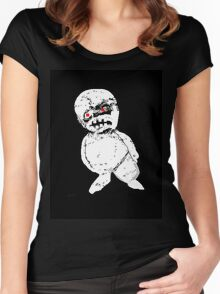 keeping tabs keeping posted - the tee Women's Fitted Scoop T-Shirt