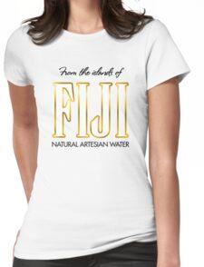 FIJI Water Boyz- Yung  Womens Fitted T-Shirt