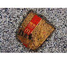 Road kill Photographic Print