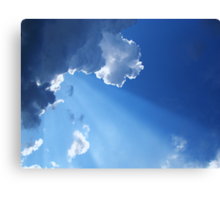 Every Cloud Has Its Silver Lining Canvas Print