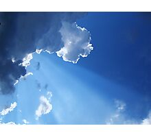 Every Cloud Has Its Silver Lining Photographic Print