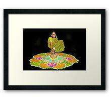 Rangoli Framed Print