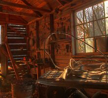 hdr old tool shed by Jamie Roach